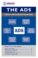 USAID Automated Directives System (ADS) Booklet